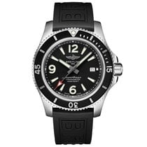Breitling Steel Automatic Black Arabic numerals 44mm new Superocean 44