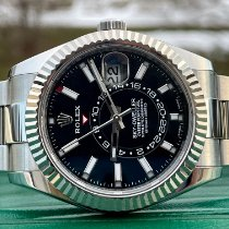 Rolex Sky-Dweller Steel 42mm Black No numerals United States of America, Illinois, ROMEOVILLE