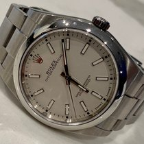 Rolex Oyster Perpetual 39 Steel 39mm White No numerals United States of America, Florida, Lake Mary