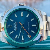Rolex Milgauss Steel 40mm Blue No numerals United States of America, Illinois, ROMEOVILLE