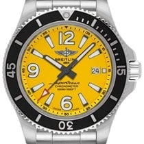Breitling Superocean 44 Steel 44mm Yellow Arabic numerals United States of America, Florida, Plantation