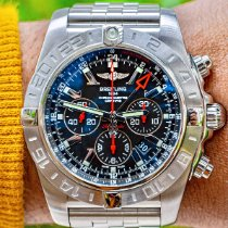 Breitling Chronomat GMT Steel 47mm Black No numerals United States of America, Texas, Plano