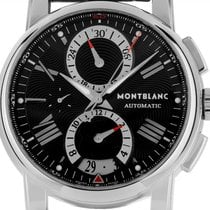 Montblanc pre-owned Automatic 44mm Black Sapphire crystal