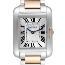 Cartier W5310043 Gold/Steel Tank Anglaise 34.7mm pre-owned United States of America, Georgia, Atlanta