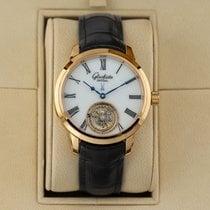 Glashütte Original Senator Meissen Tourbillon Rose gold 40mm White