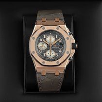Audemars Piguet Royal Oak Offshore Chronograph Rose gold 42mm Grey United States of America, New York, Airmont