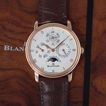 Blancpain Villeret Rose gold 38mm Silver United States of America, New York, Airmont