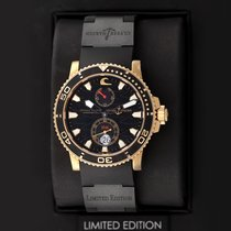 Ulysse Nardin Maxi Marine Diver Rose gold 42.7mm Black United States of America, New York, Airmont