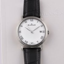 Blancpain White gold Automatic White 42mm pre-owned Villeret