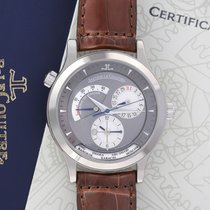 Jaeger-LeCoultre Master Geographic White gold 38.1mm Grey United States of America, New York, Airmont