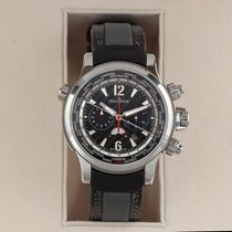Jaeger-LeCoultre Master Compressor Extreme World Chronograph Steel 46.3mm Black United States of America, New York, Airmont