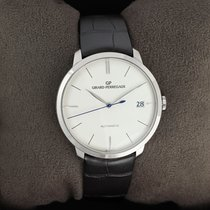 Girard Perregaux 1966 White gold 41mm Silver United States of America, New York, Airmont