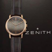 Zenith Rose gold Automatic Bronze 42mm new Elite Chronograph Classic