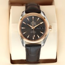 Omega Seamaster Aqua Terra Gold/Steel 39mm Grey United States of America, New York, Airmont