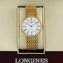 Longines La Grande Classique Yellow gold 34mm White United States of America, New York, Airmont