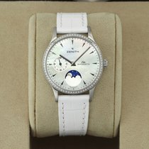 Zenith Steel Automatic Mother of pearl 33mm new Elite
