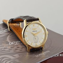 Longines Flagship Heritage Yellow gold 38.5mm Silver United States of America, New York, Airmont