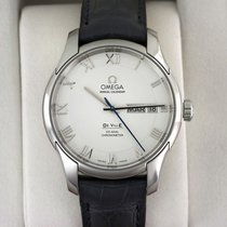 Omega De Ville Co-Axial Steel 41mm Silver United States of America, New York, Airmont