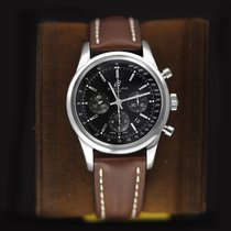 Breitling Transocean Chronograph Steel 43mm Black United States of America, New York, Airmont