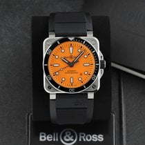 Bell & Ross BR 03-92 Steel Steel 42mm Orange United States of America, New York, Airmont