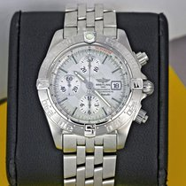 Breitling Galactic Steel 44mm Silver United States of America, New York, Airmont