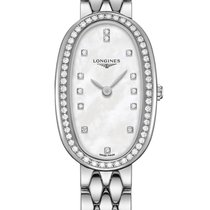 Longines Symphonette Steel 18.9mm Mother of pearl United States of America, New York, Airmont