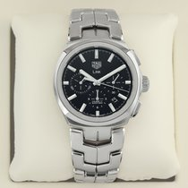 TAG Heuer cbc2110.ba0603 Steel 2018 Link 41mm pre-owned United States of America, New York, Airmont