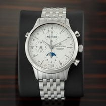 Maurice Lacroix Les Classiques Chronographe Steel 41mm Silver United States of America, New York, Airmont