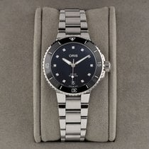 Oris Aquis Date Steel 36.5mm Black United States of America, New York, Airmont
