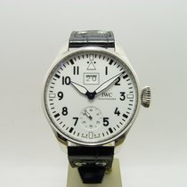 IWC Big Pilot Steel 46mm White Arabic numerals