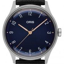 Oris 01 733 7762 4085-Set Steel 2021 Artelier 38mm new