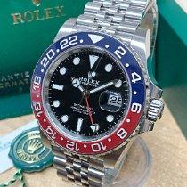 Rolex GMT-Master II новые 2021 Автоподзавод Часы с оригинальными документами и коробкой 126710BLRO