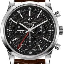 Breitling Transocean Chronograph GMT новые Автоподзавод Хронограф Часы с оригинальной коробкой AB045112-BC67-739P