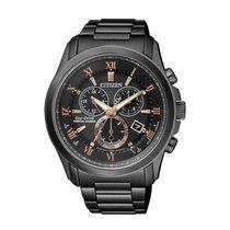 Citizen Watch new Steel 43 mmmm Roman numerals Quartz Watch with original box and original papers