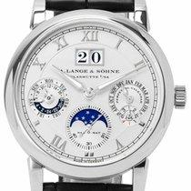 A. Lange & Söhne Langematik Perpetual Platinum 38.5mm Silver Roman numerals