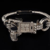 Rolex Oyster Precision Platinum 13mm Silver No numerals