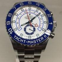 Rolex Yacht-Master II Acier 44mm Blanc Sans chiffres Belgique, koksijde
