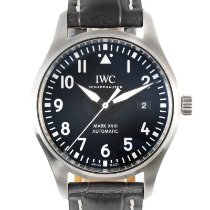 IWC pre-owned Automatic 40mm Black Sapphire crystal