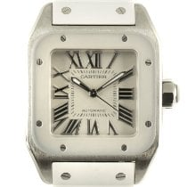 Cartier Santos 100 2878 Very good Steel 32.5mm Automatic