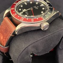 Tudor Black Bay GMT Steel 41mm Black No numerals