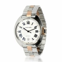 Cartier Clé de Cartier Gold/Steel 40mm Silver United States of America, New York, New York