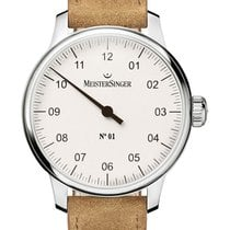 Meistersinger N° 01 new 2020 Manual winding Watch with original box and original papers AM3301
