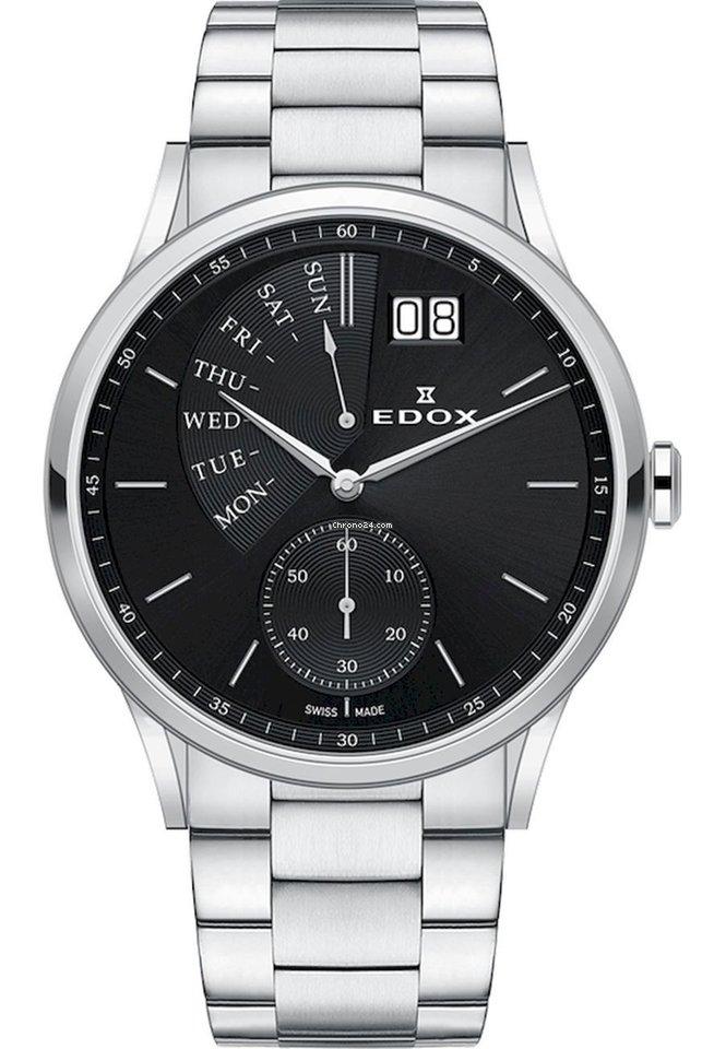 Edox Les Vauberts 34500 3M NIN 2021 nieuw