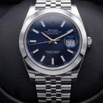 Rolex Datejust Steel 41mm Blue No numerals United States of America, California, Huntington Beach
