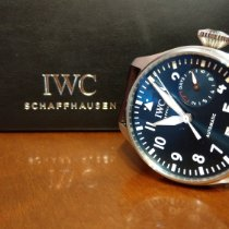 IWC Big Pilot Acciaio 46.2mm Blu Arabi Italia, Trieste