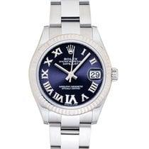 Rolex (ロレックス) レディース デイトジャスト 新品 2021 自動巻き 正規のボックスと正規の書類付属の時計 278274-0025
