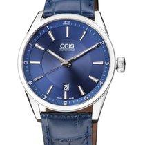 Oris Artix Date Steel 42mm Blue Arabic numerals United States of America, New Jersey, Somerset