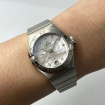 Omega Constellation Petite Seconde Zeljezo 27mm Sedef-biserast Bez brojeva