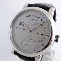 A. Lange & Söhne Lange 31 Platinum 45.9mm Silver