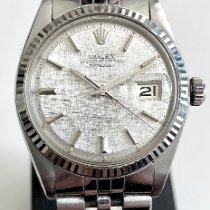 Rolex Datejust Staal 36mm Zilver Geen cijfers Nederland, Duiven